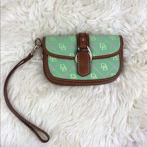 Dooney & Bourke wristlet with strap